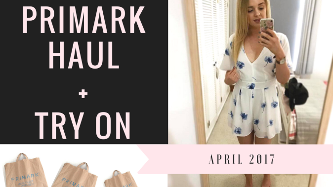 PrimarkHaul+TRY ON